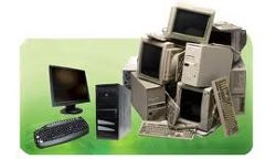 Pile of Computers and Hardware
